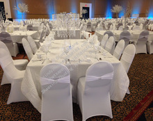 Cheap Classic Spandex Banquet Chair Covers and Chair Sashes for Sale