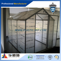 Anti-fog and UV-protection 100% virgin material polycarbonate Green house