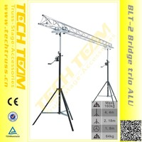 UP to 4m crank handle tripod light stand truss stand with auto lock