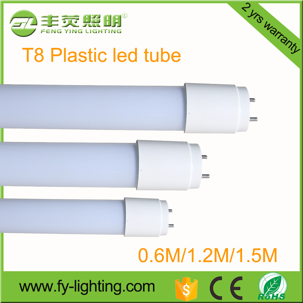With CE RoHS Approval SMD2835 1200mm T8 LED plastic Tube 18w 20w 24w