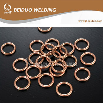 Brazing Rings phosphorus copper welding ring BCuP-2 BCuP-3