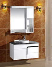 Cheap price pvc Vanity bathroom cabinet