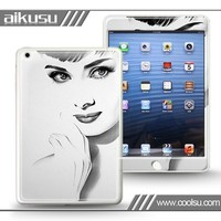 wholesale water transfer printing case covers for iPad mini iPad 4 case, cellphone sticker case