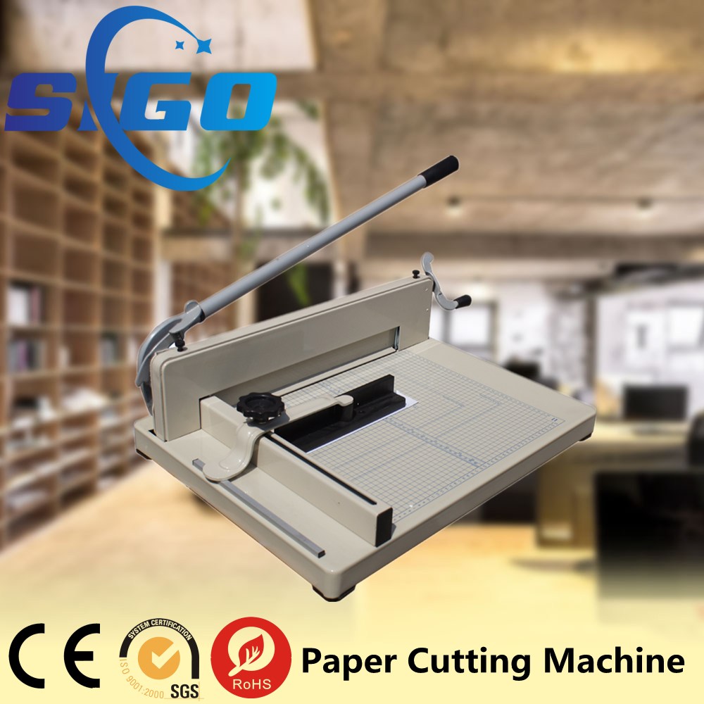 SG-858A3 manual office Paper Cutter for sale