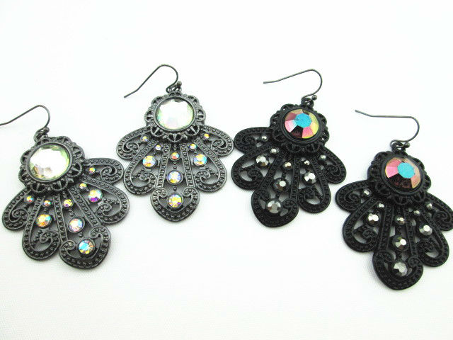YE11782 very new arrival pretty zinc alloy nickel free casting earring new designs for 2013 fashion jewelry