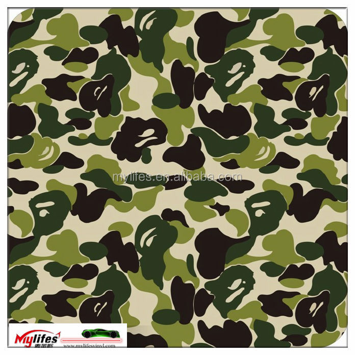 Print Cool Cars Color Stickerbomb Camouflage Stickerbomb car vinyl wrapping Change your Car color