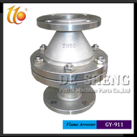 Factory Supplier Resistance Deflagration Type Pipe Flame Arrester
