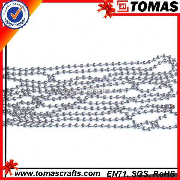Guangzhou custom 3.2mm imitation gold plated bead chain