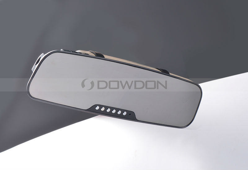 "Car Side View Mirrors with Camera 2.7"" LCD Screen"