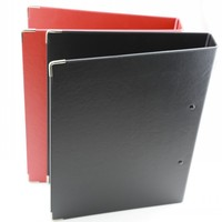 artificial leather executive file folder,executive file folder bag, wholesale 3 ring binders leather folder for interview