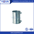 electrical gi emt pipe power reducing zinc coupling
