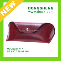 leather accessories caser handmade stitiching glasses case