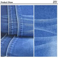 Stretch Denim Jeans Fabric Cloth cotton polyester produced roll price denim fabric