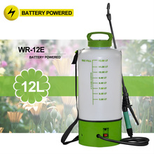 (1035) on wheels 2 and 3 Gal portable no pump water rechargeable battery power sprayer