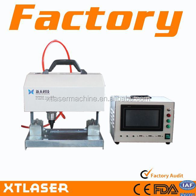 Rotary Chassis-number Nameplate CNC Portable Metal Engraving Flange Pneumatic Marking Machine