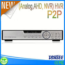 4CH AHD 720P Standalone DVR P2P Analog High Definition free client software h.264 dvr