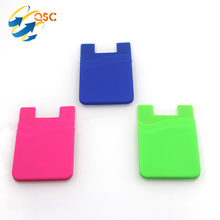 Universal Silicone Bumper Phone Wallet Case For Mobile