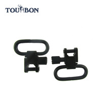 Tourbon Hunting Accessories 2Pieces Lot Quick Detach Swivels Rifle Gun Sling Swivels