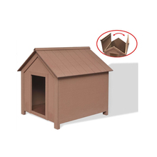 wpc pet house dog house plastic wooden dog house