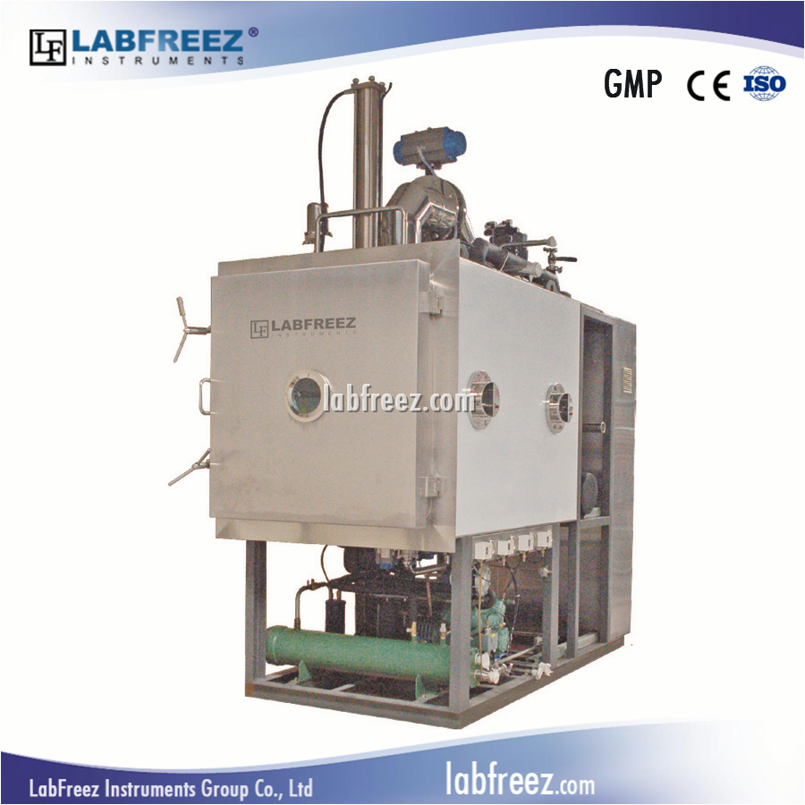 Process Industry Freeze Dryer, Lyophilizer for pharmacy, SIP + CIP, GMP standard, FD-P Series LabFreez