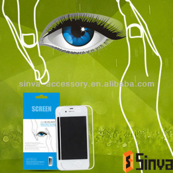 Hot!! For computer screen protector eyes protection with anti blue ray technology