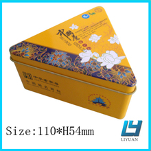 Triangle Tea Tin Box