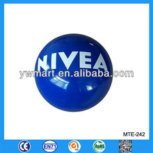 inflatable human beach ball, NIVEA beach balls, branded beach balls