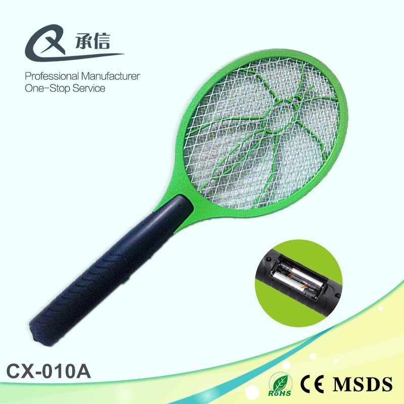AA battery electric mosquito swatter bug zapper