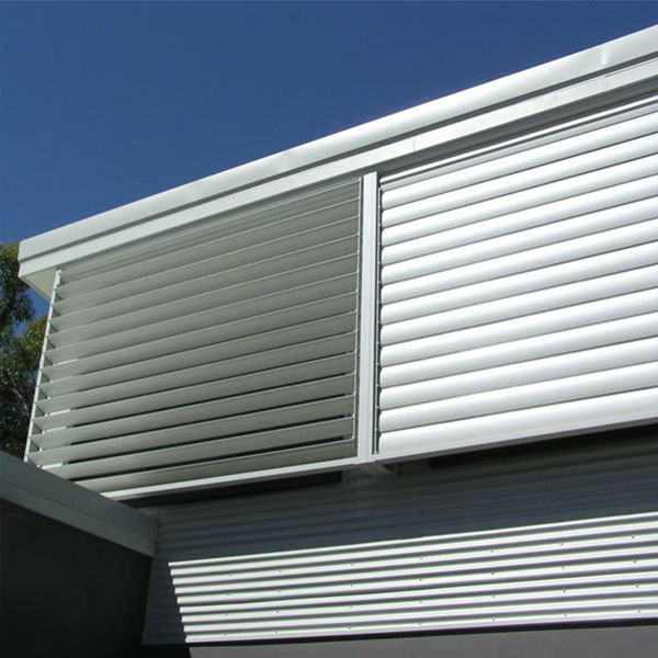 high quality competitive price fixed aluminum window louver