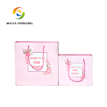 Cheap price Creative design Eco-friendly custom logo Skin Care package smart shopping paper bag