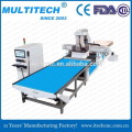 Auto loading and unloading wood cnc router with drill head kitchen cabinet door