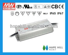 MEANWELL HLG-320H-48 LED Driver 320W 48V single output constant voltage with PFC 1~10V PWM dimming UL/CB/CE
