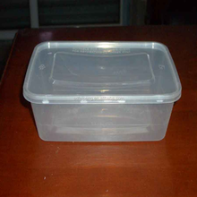Hot Sales Compartment Microwave Disposable Plastic Lunch Box