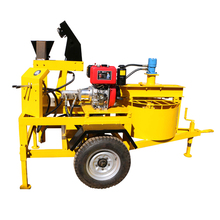 Semi-automatic hydraform mud brick block making machine price in bangalore