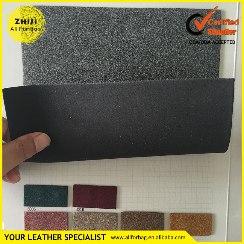 Hot Sale Fashion High Quality 1.4mm Thick Matte PU Synthetic Leather For Bag Strap