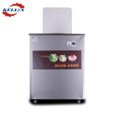 High efficient and fast cooling evaporator flat pan fry ice cream machine