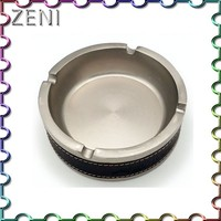 Hot sale fashion outdoor round metal standing ashtray