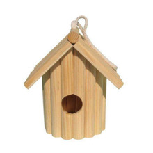 Delicate wooden bird's nest, not only cheap but popular