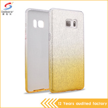 Bling phone case tpu pc glitter 3 in one color change fancy mobile covers for samsung galaxy note 7