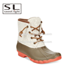 young fashion waterproof rubber duck boots for women