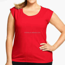 Plus Size Wholesale T-shirts with Short Sleeve Plain T-shirts Wholesale Custom Made in China Online Shopping