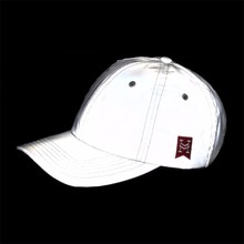 High visibility custom glow in the dark reflective hat