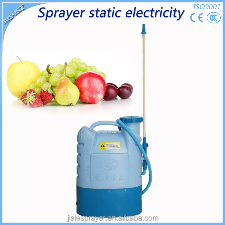 High Quality Liquid Adherence Electrostatic electric pesticide farm water sprayer