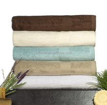 China Factory Hot Sell 100% Organic Bamboo Towels