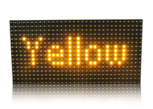 P10 yellow led module Outdoor DIP Single Yellow Color LED Module 32*16 p10 scrolling/moving message display