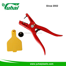 ear tag applicator and ear tag marking plier for animal and cow