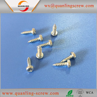 Wholesale china factory pan flanged head counter sunk self tapping screw