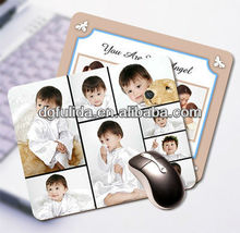 With Baby Photos Insert/Printed Mouse Mat/DIY Mouse Mat