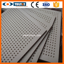 Cheap Unit Weight Prices Acoustic Perforated Gypsum Board