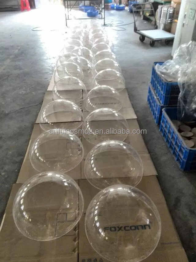 18000liters large clear acrylic dome cover plastic for travel